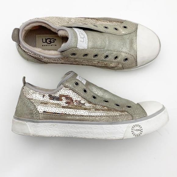 9aeda5027b2 UGG Australia Womens Slip-On Sneakers Sz 7 Low Top
